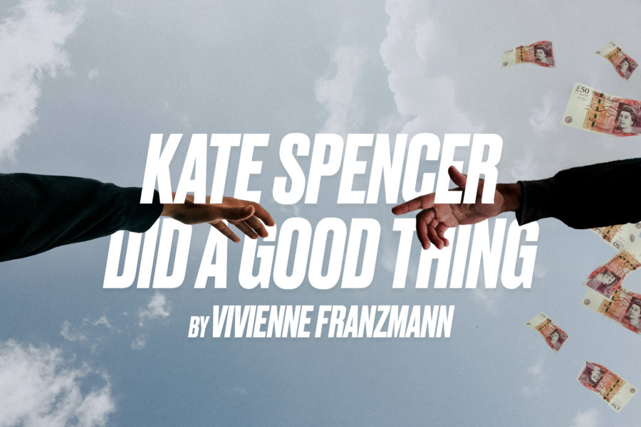 BA Acting show Kate Spencer Did A Good Thing by Vivienne Franzmann